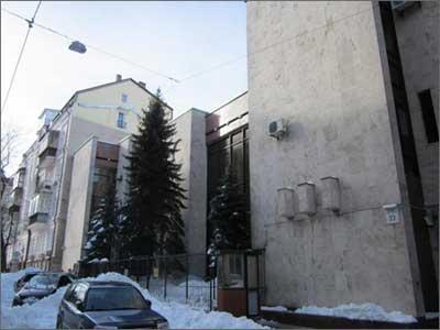 Фото посольства Венгрии в Киеве