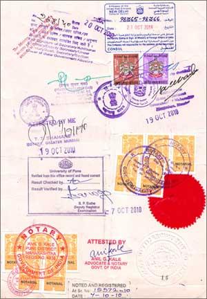 Переклад документів для посольств Києва