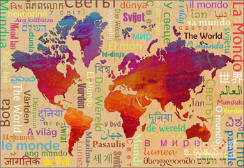Мови майбутнього та місця їх розповсюдження