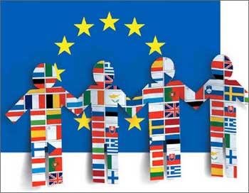 Картинка языков Европейского Союза