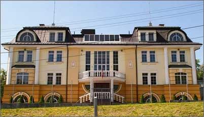 фото швейцарского посольства в Киеве