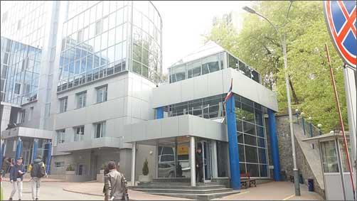 Фото здания посольства Тайланда