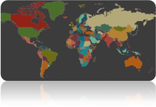 Интерактивная карта языков